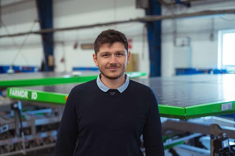 Mathieu Nougues Regional Sales Manager FarmDroid